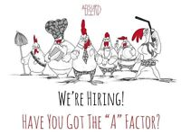 Chefs wanted for NEW OPENING up to £9 per hour (all levels of experience required)