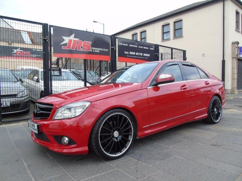 2008 mercedes benz c class 2 1 c220 cdi sport 4dr in dungannon county tyrone gumtree. Black Bedroom Furniture Sets. Home Design Ideas