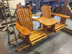Handmade Adirondack Style Outdoor Furniture