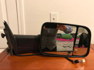 Brand New Towing Mirror for 09-18 Dodge Ram Power Heated, turn s