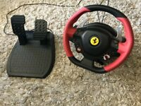 Thrustmaster Ferrari 458 Spider Racing Wheel (with pedals)