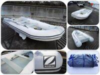 Zodiac Cadet 360 Fast Roller PVC inflatable Tender Rib Acti V HP air floor