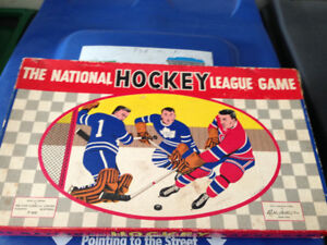 VINTAGE 1957 THE NATIONAL HOCKEY LEAGUE GAME TORONTO MONTREAL