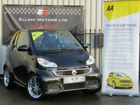 Smart ForTwo coupe passion 84bhp (black) 2013