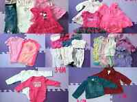 3-6 Month Baby Girl Clothes 25$