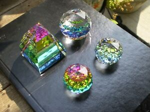 Swarovski Crystal Colored Paper Weights Kitchener / Waterloo Kitchener Area image 2