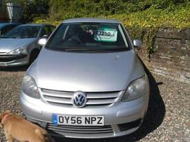 2006 VOLKSWAGEN GOLF PLUS 1.9 SE TDI PD JUST BEEN REDUCED NOW GBP2600