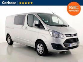 2015 FORD TRANSIT CUSTOM 290 125ps Limited Panel Van H1 L2 Double Cab
