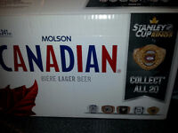8 Molson Canadian rings for $80