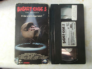 Horror VHS Tapes For Sale, List Inside, Some Rare Horror Movies! London Ontario image 4