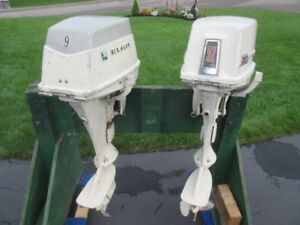 Chrysler 9.2 HP & Elgin 9 HP Outboard Motors