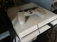 Playstation 4 ps4 white great condition with box and bf4