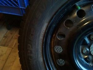 225 65 R17 Studded Winter Tires and Rims St. John's Newfoundland image 2
