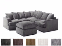*BRAND NEW* LIVERPOOL CORNER SOFA *AVAILABLE IN DIFFERENT COLOURS*