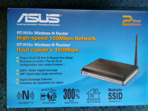 ASUS RT-N10+ Wireless Router