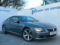 2008 08 BMW 635d Sport Diesel Automatic for sale in AYRSHIRE