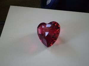 "Swarovski Crystal Figurine -"" Red Heart "" Kitchener / Waterloo Kitchener Area image 9"