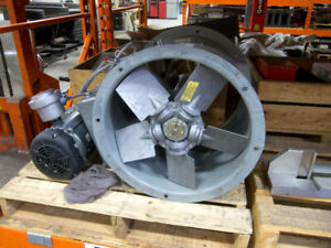 "3/4hp - Ø16"" tubeaxial paint booth fan"
