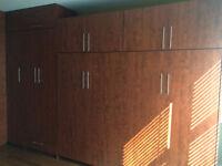 Wall Bed & Wardrobe Units: Great space saver and max storage