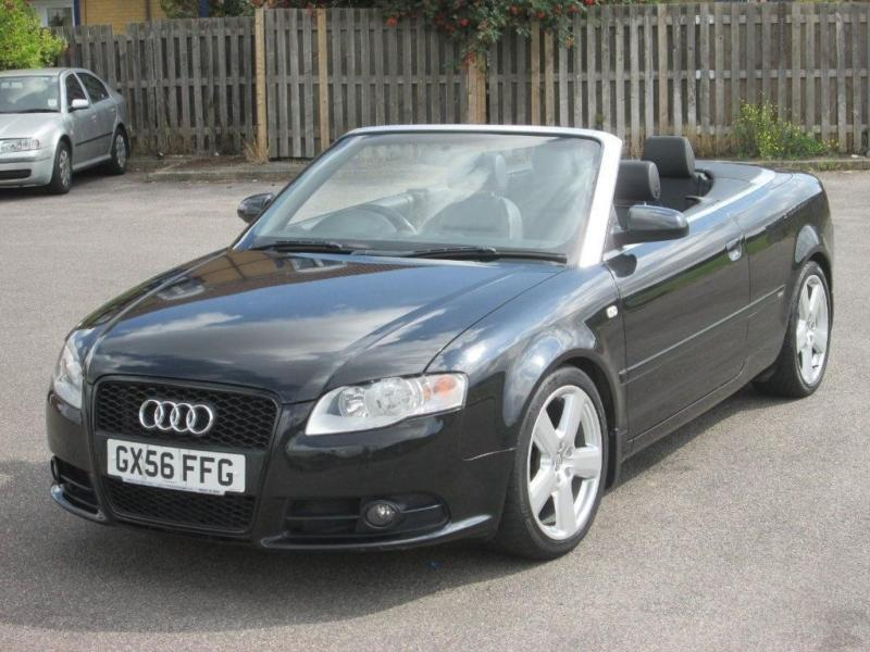 2006 Audi A4 Cabriolet 20 Tdi S Line Cabriolet 2dr In Grays