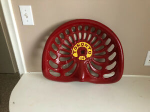 Vintage   cast iron tractor seat.