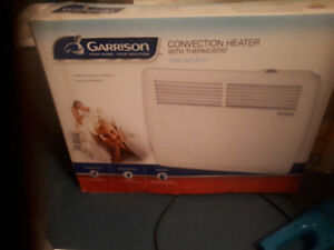 REDUCED  New  Garrison convection heater