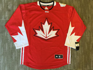Canada World Cup of Hockey Authentic Adidas Jerseys