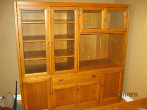 Sklar  Peppler Wall unit and matching End table