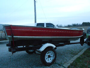 14 foot Nolco boat with trailer