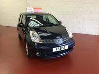 NISSAN NOTE FROM £0 DEPOSIT-POOR CREDIT-WE FINANCE-TEXT 4CAR TO 88802
