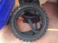 Pit bike tyre