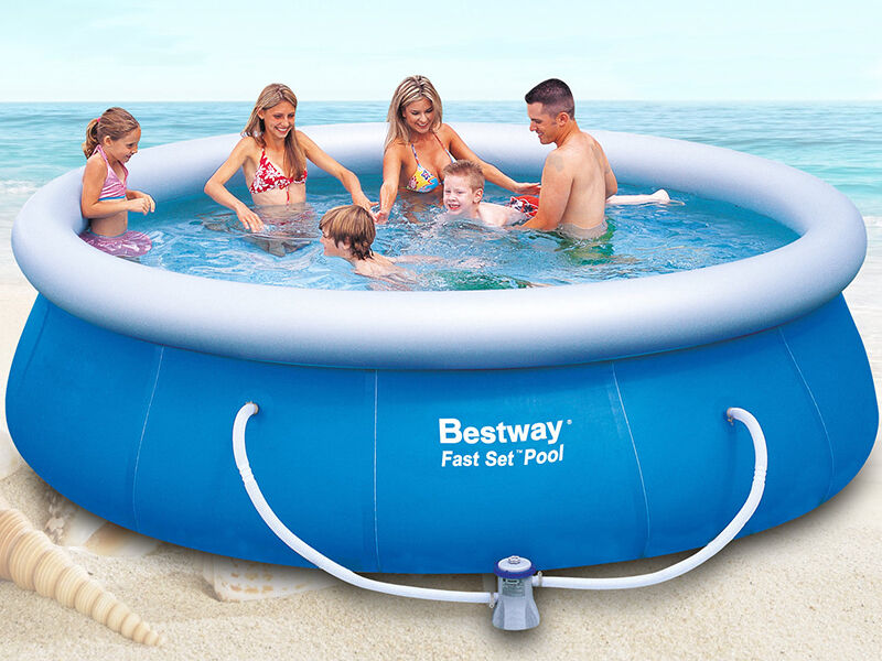 How To Patch A Bestway Pool