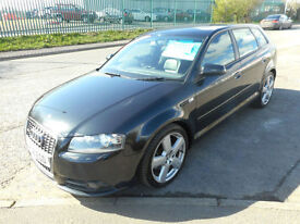 AUDI A3 SPORTBACK SLINE 170 5 DOOR AUTO DIESEL LEATHER