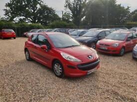 2007 Peugeot 207 1.4 Urban 12 Months MOT Full Service History