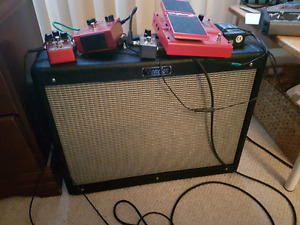 Fender hot rod deluxe III and pedals
