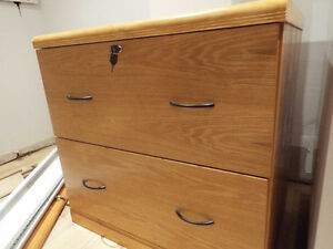Classeur, 2-tiroirs | Filing cabinet, 2 drawers