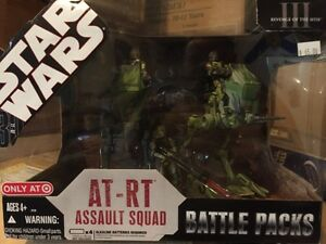 Star Wars 2008 AT-RT Assault Squad Battle pack