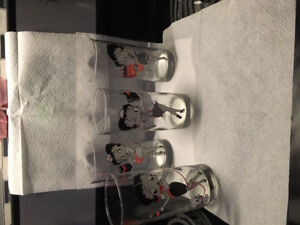 Coca Cola Betty Boop collectible drinking glasses