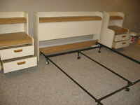 Queen 6 Piece Bedroom Set With or Without Mattresses