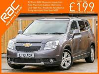 2013 Chevrolet Orlando 2.0 VCDI Turbo Diesel LTZ 6 Speed 7-Seater MPV Climate Co