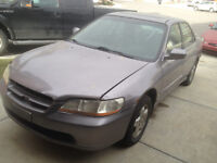 2000 Honda Accord Sedan Winter Beater Sale.