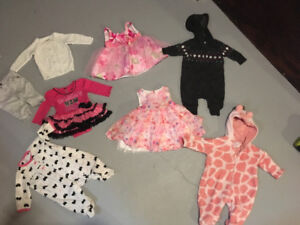 0-3  cute baby girl outfits and dresses