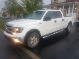 Ford F150 2011, Ecoboost, 100 000km, crewcab, 6 places