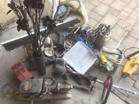 Job lot of power tools and other bits and bobs