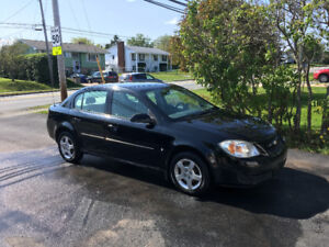 2007 Chevrolet Cobalt Black Sedan