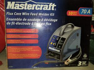 Mastecraft Flux-Core Wire Feed Welder Kit