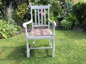 Carver / Armchair , upholstered