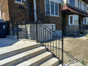 Custom Railings, Hand Rails, Stairs,Ramps, Guard Railing Systems London Ontario image 6