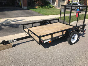Utility Trailer (5x7) with Ramp