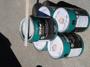 Behr Semi-Gloss Exterior Paint